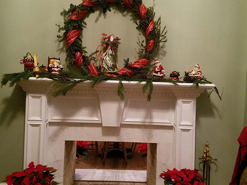 holiday preparations at the manor of hope in southeastern pa