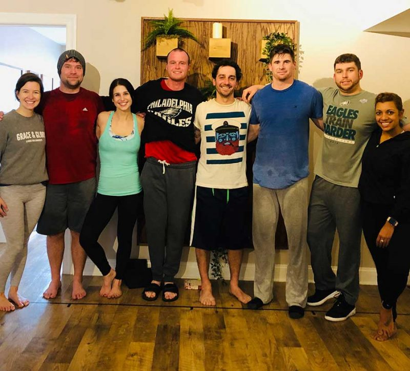 manor of hope yoga class