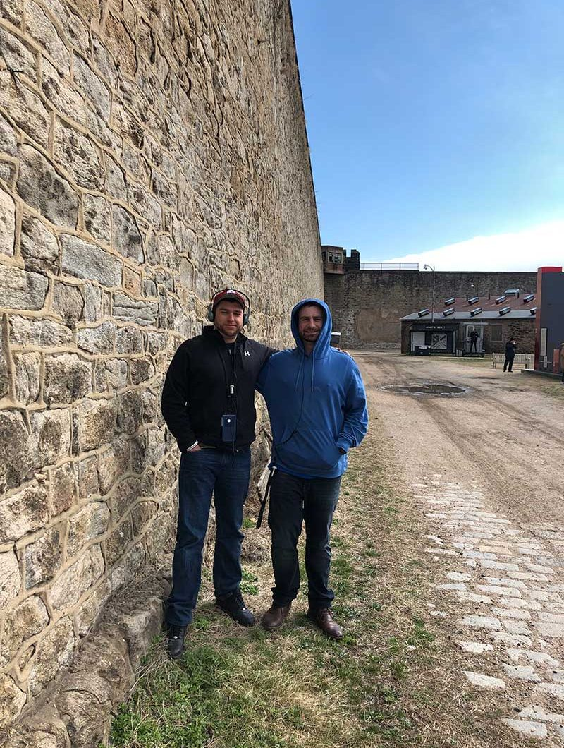 touring Eastern State Penitentiary