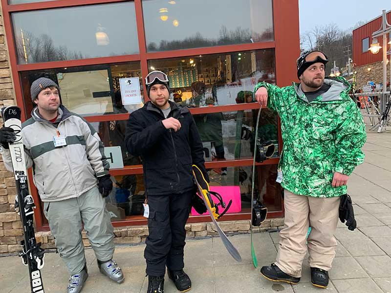skiing trip feb 2019