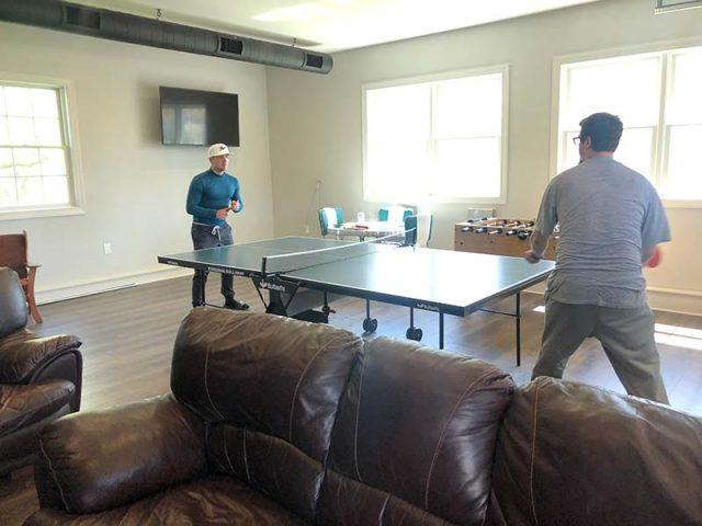 Wellness Center ping pong