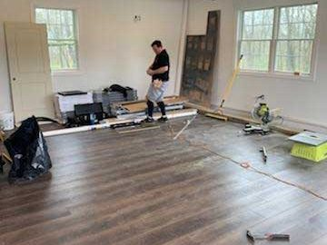 lots of flooring