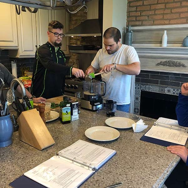 cooking lessons at the manor of hope
