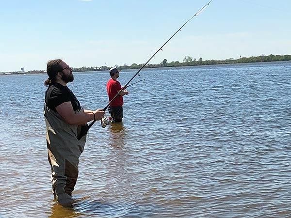 manor of hope guys go fishing
