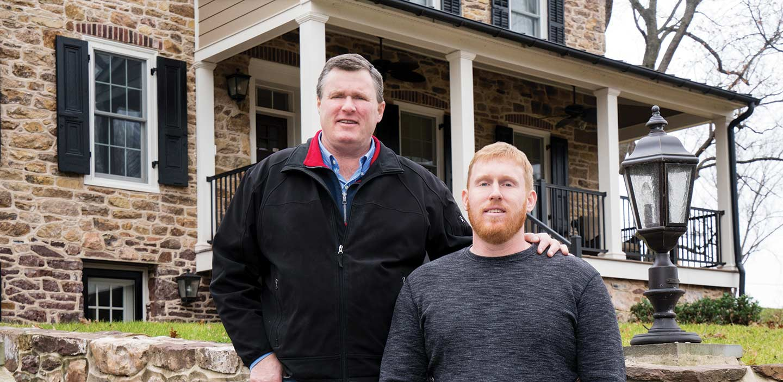 manor of hope founder steve killelea and john killelea