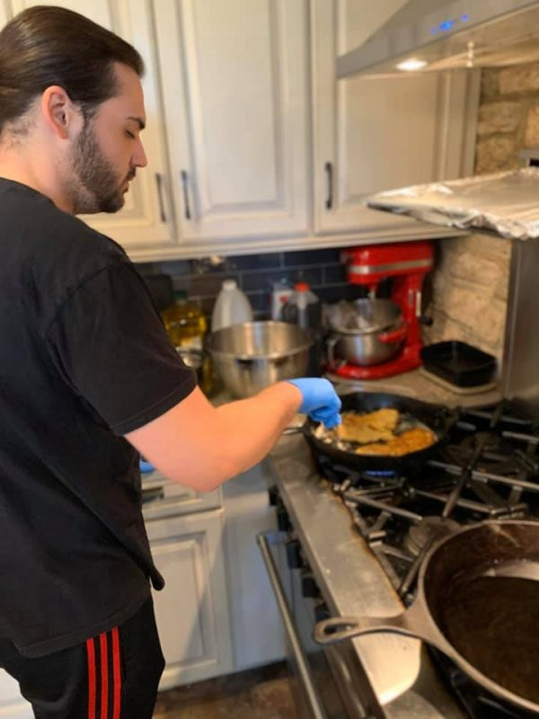 patrick cooking
