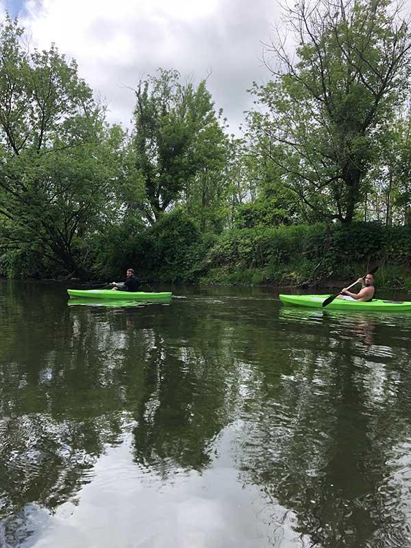 canoeing manor of hope guys