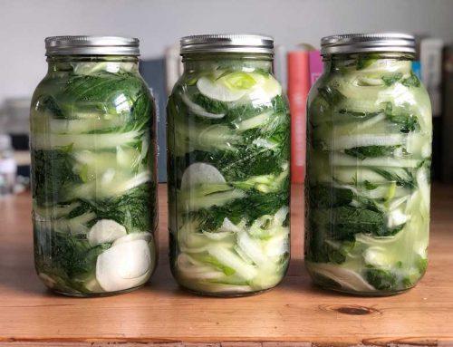 White Kimchi Recipe
