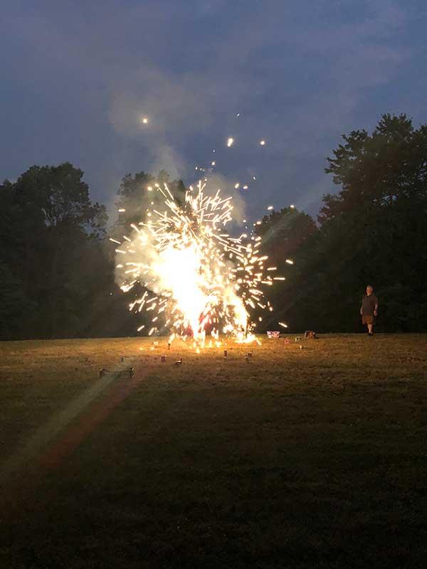 fireworks display 4th