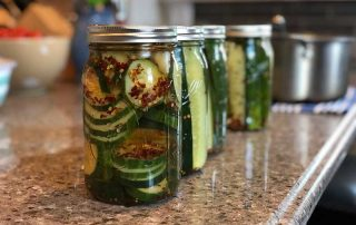 chef andrew deery at the manor of hope refrigerator pickles recipe