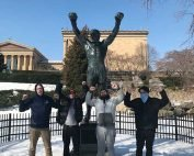 manor of hope art museum trip philadelphia rocky statue