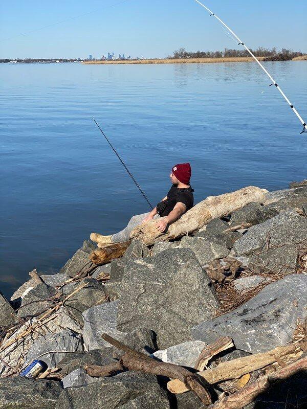 fishing-season starts at manor of hope