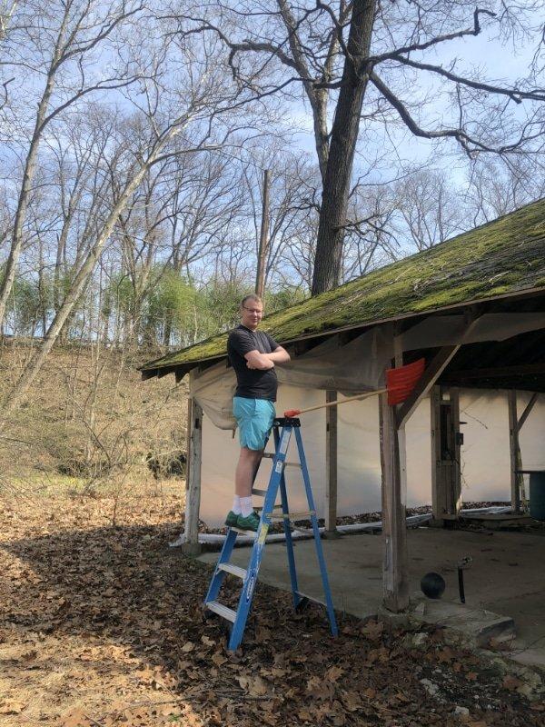 manor of hope - gathering moss for the zen garden