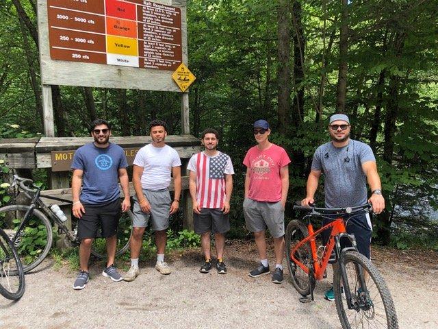 4th of July bike trip