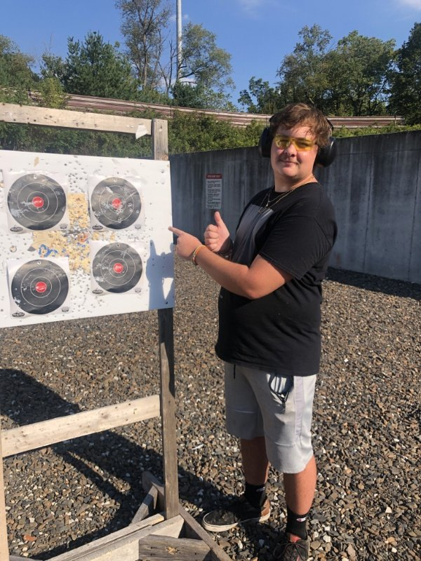mike at the range